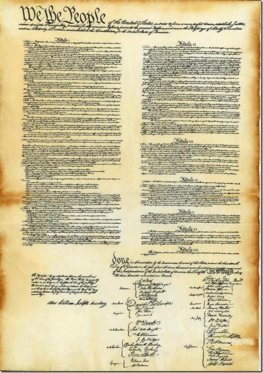 Constitutionw